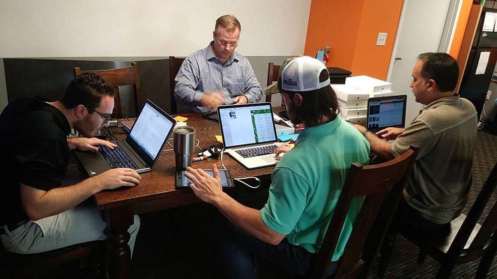 TGA Team Preparing iPads for Hurricane Florence cleanup